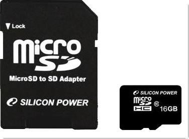 MicroSD, 8GB, Class 4