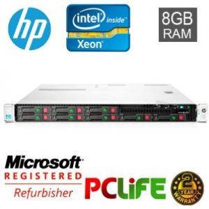 HP server DL360P G8